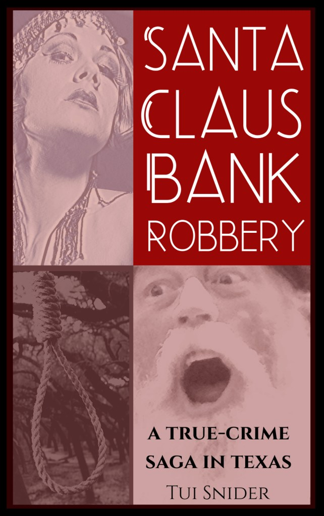 cover of santa claus bank robbery