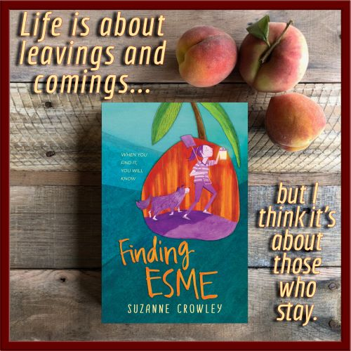Book graphic for Finding Esme