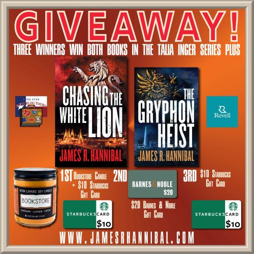 giveaway image for Chasing the White Lion