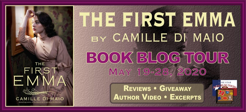 Blog tour Banner for The First Emma