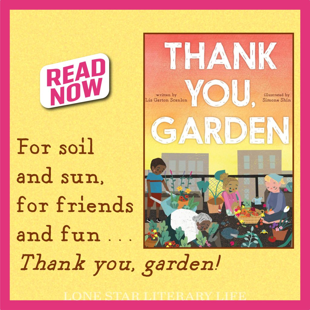 blog graphic for Thank You Garden