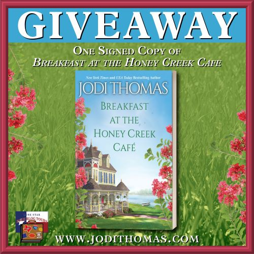 Giveaway image for breakfast at the honey creek Café
