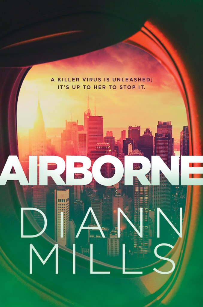 book cover image for Airborne by DiAnne Mills