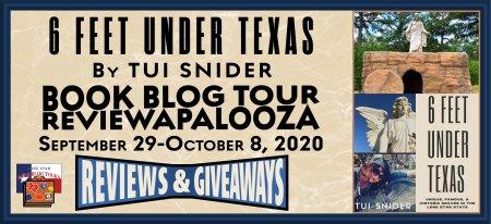 Six Feet Under Texas Blog Tour banner