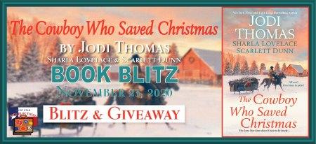Blog Tour Banner for the Cowboy who saved Christmas