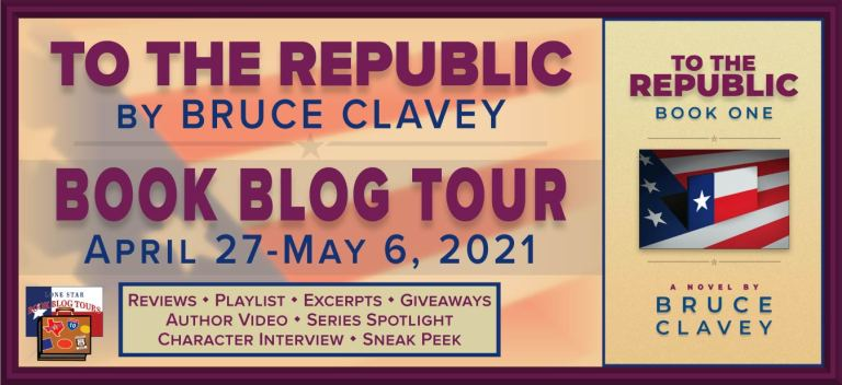 Blog Tour Banner for To The Republic