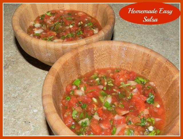 Homemade Easy Salsa