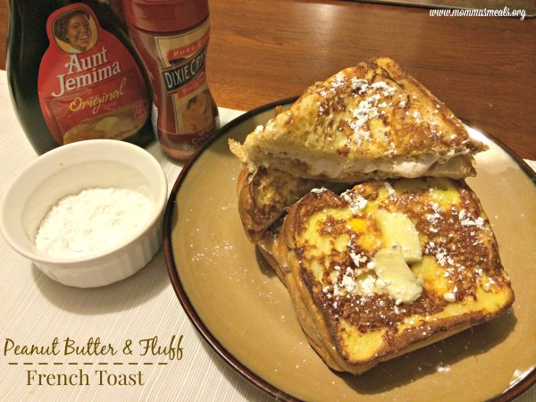 Peanut Butter & Fluff French Toast 2