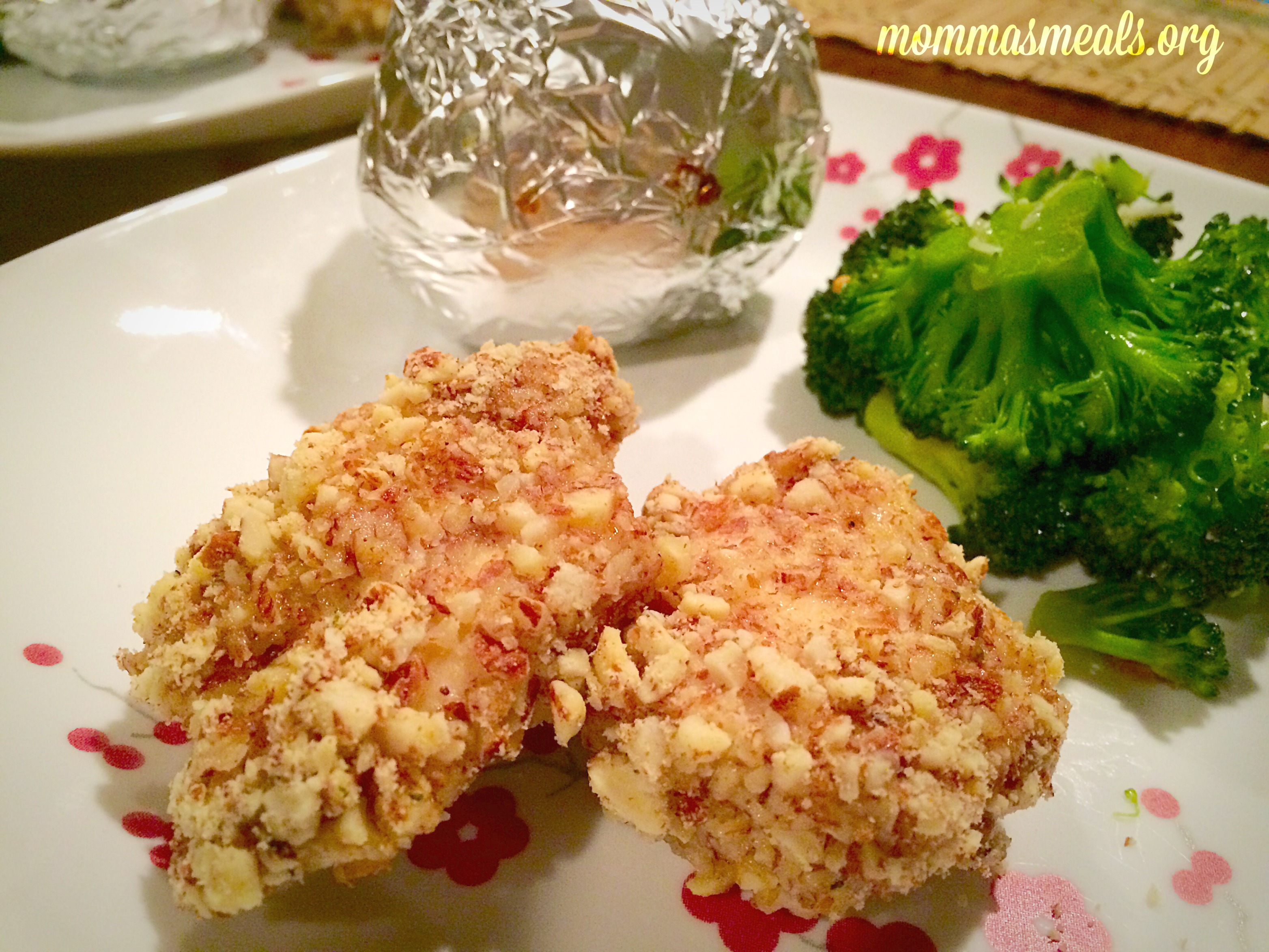 Almond Crusted Chicken 3