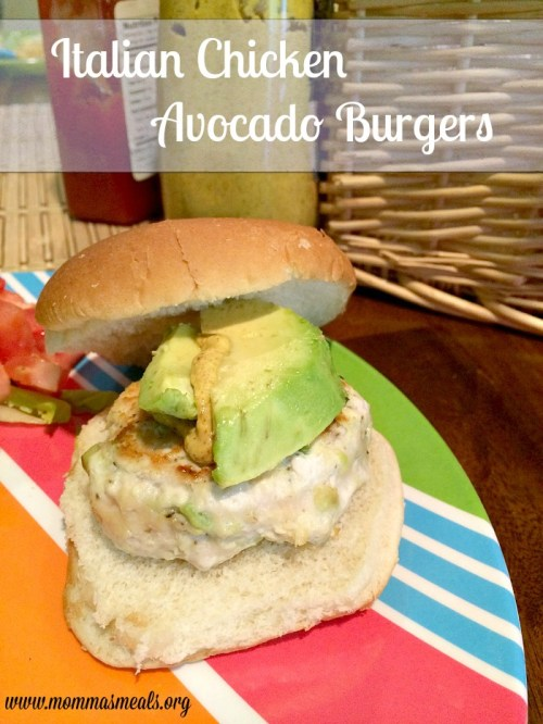 Italian Chicken Avocado Burgers14 Title