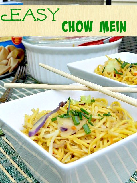 Easy Chow Mein P