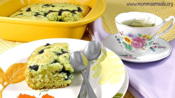 Blueberry Coffee Cake C