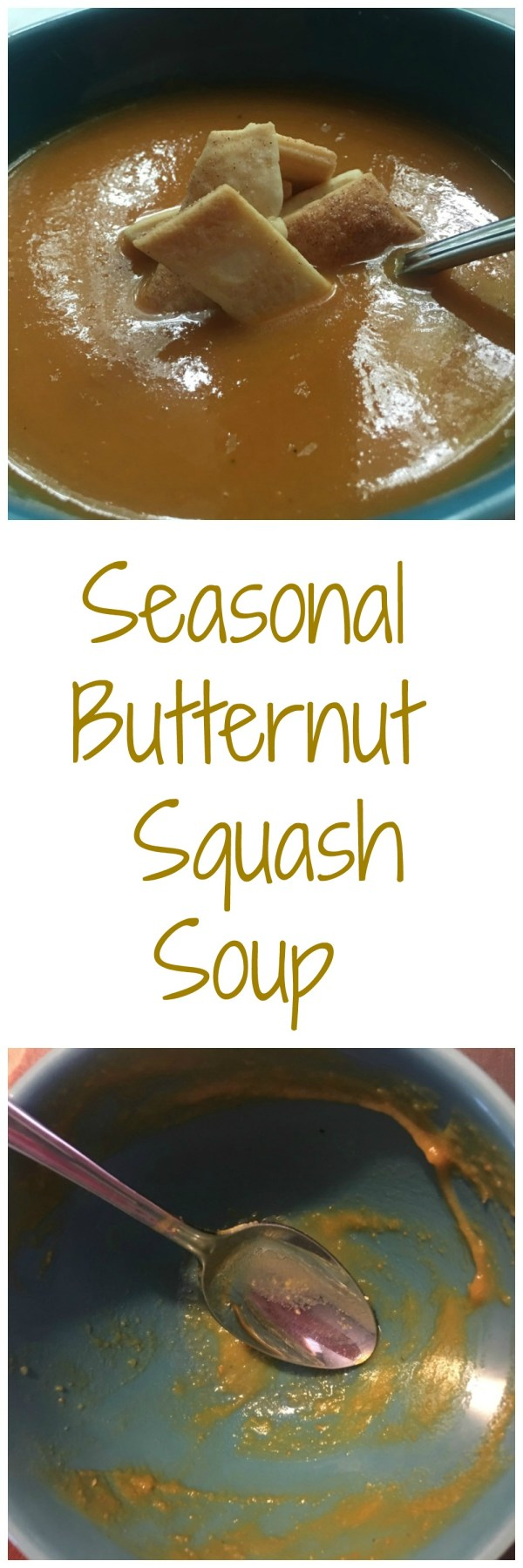 Seasonal Butternut Squash Soup