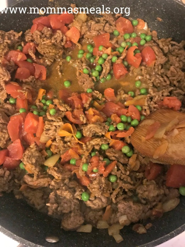 Easy Curry Beef Bowls