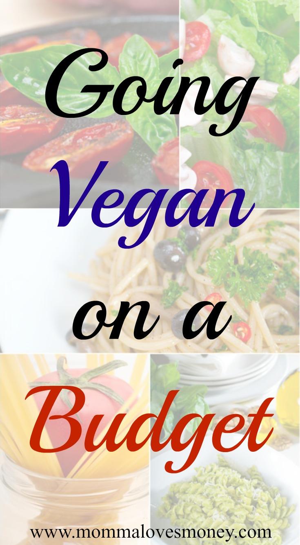 going vegan on a budget