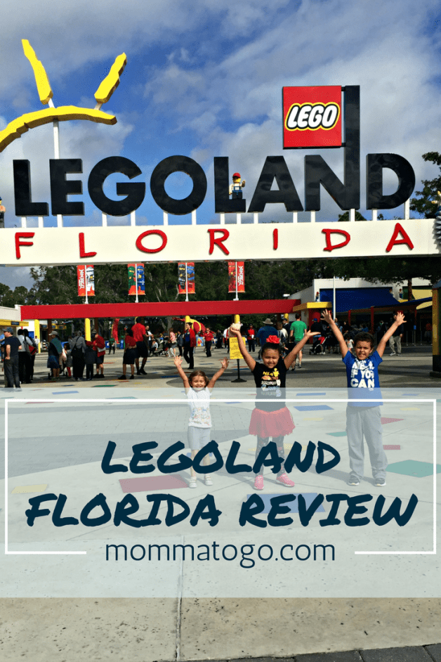 Review of Legoland, Florida. A lego themed amusement park near Orlando, Florida. mommatogo.com