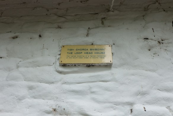 One of many plaques spread around the buildings on the grounds.