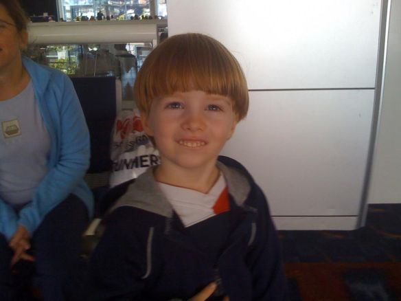 I obviously perfected the bowl cut.