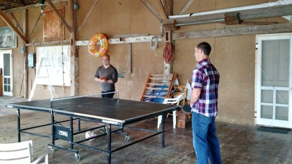 Buds was this year's ping pong tournament champion.