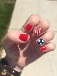 Quick, Cute & Easy Design for 4th of July Nails | AllStylez