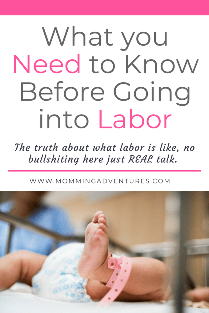 What you need to know about going into labor