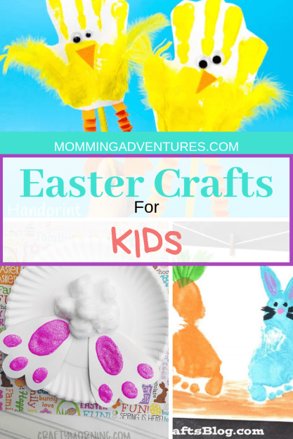 Fun and cute Easter crafts for kids to do!