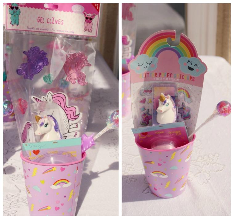 Party Favors- unicorn www.mommininapinch.com/unicorn-rainbow-birthday-party/