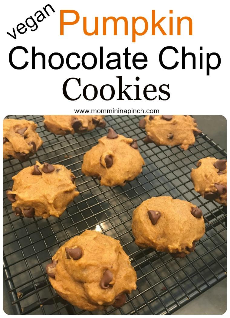 pumpkin cookies- www.mommininapinch.com/pumpkin-chocolate-chip-cookies/
