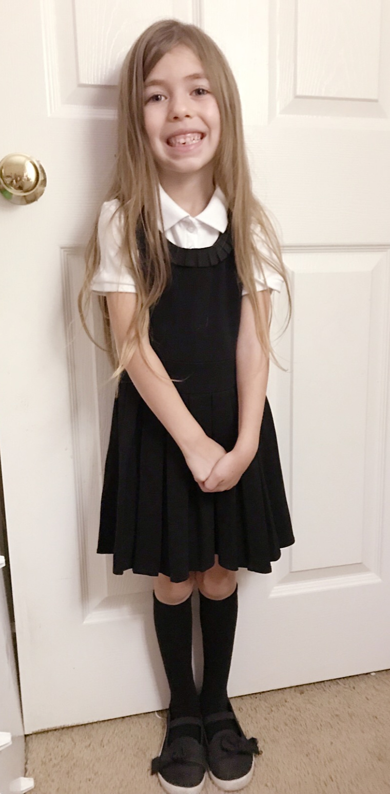 School Uniform Day 1- http://www.mommininapinch.com/kids-school-uniforms/