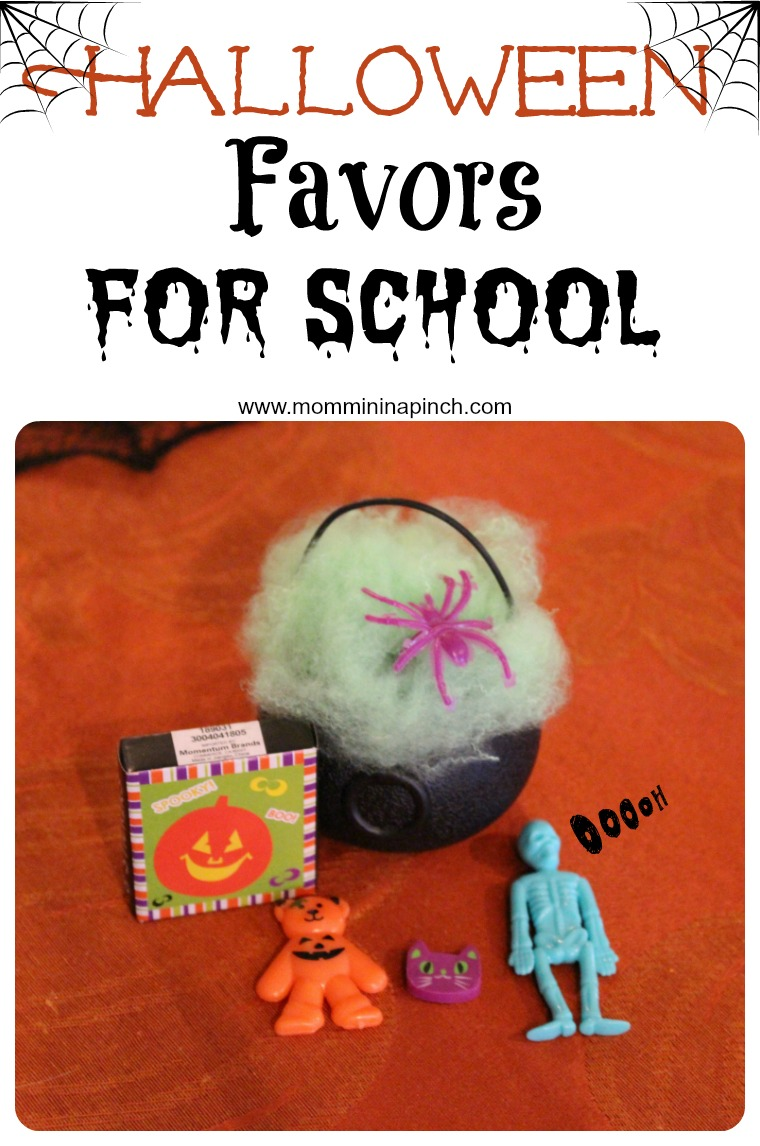 halloween favors for school- www.mommininapinch.com/halloween-favors/