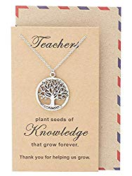 necklace teacher gift - www.mommininapinch.com #teachergifts