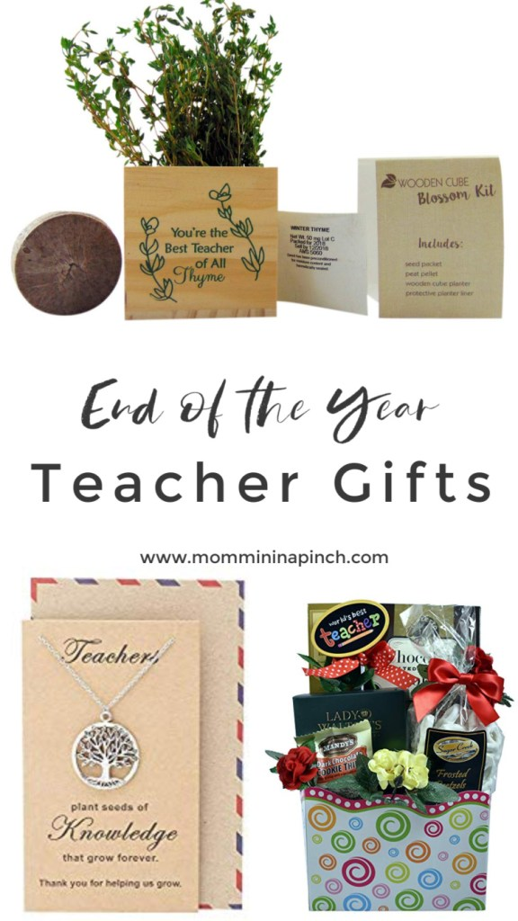 End of the year teacher gifts- www.mommininapinch.com