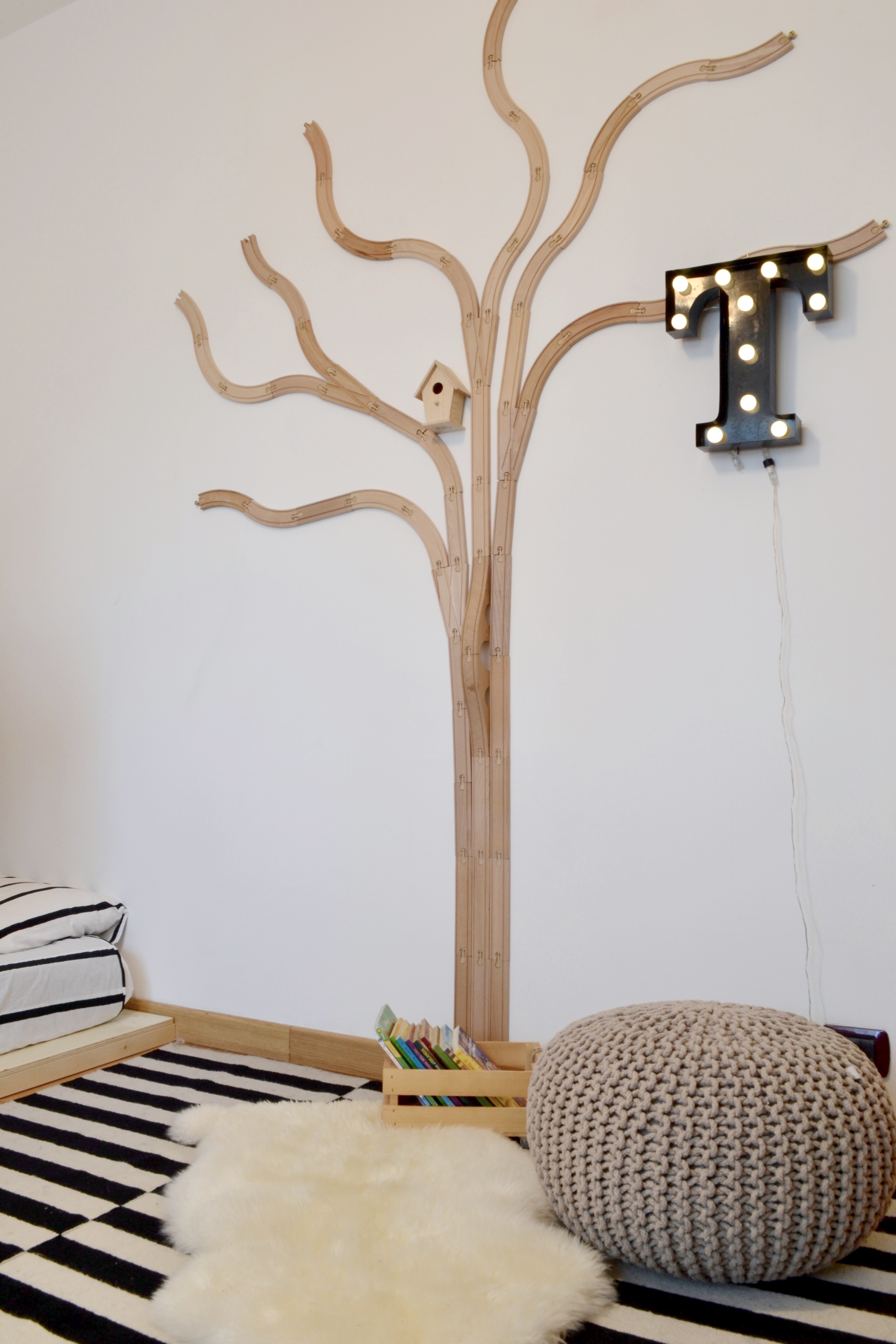 Trees In Kid S Room Mommo Design