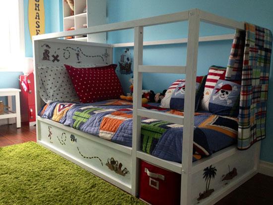Kura Bed Makeover Mommo Design