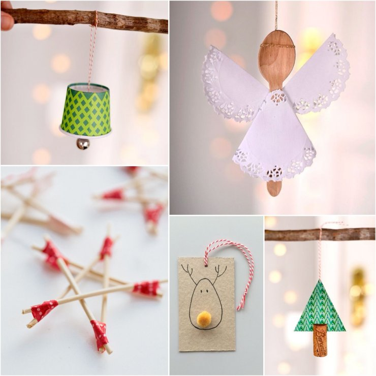 Easy Simple Christmas Crafts