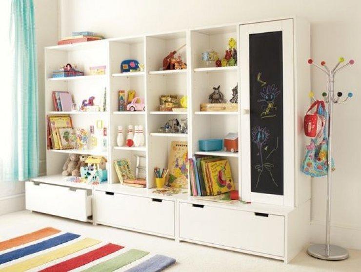 kids bedroom storage furniture IKEA STUVA | Mommo Design