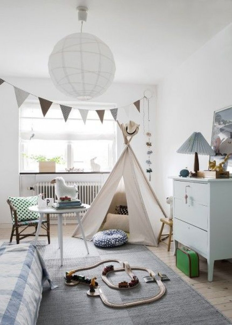 SIMPLE SOFT AND NATURAL KIDS ROOMS  Mommo Design