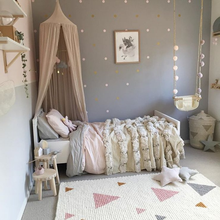 bright girl s rooms
