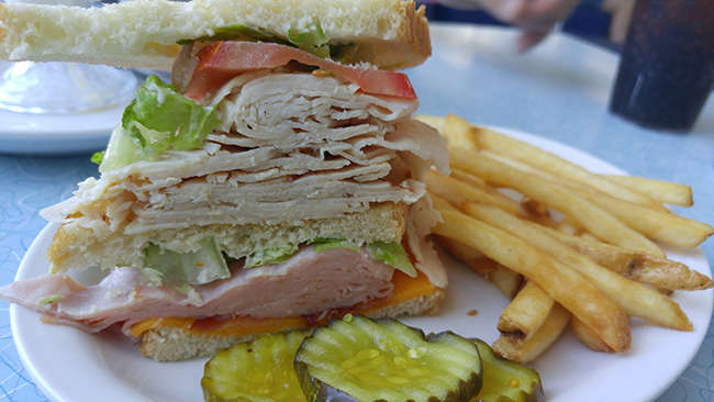 Picture of Club Sandwich with LG G4 #SprintMom