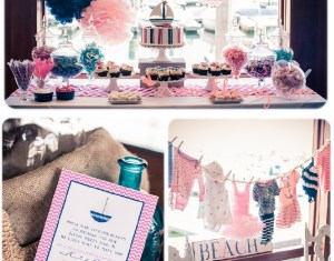 Yellow And Gray Baby Shower Ideas
