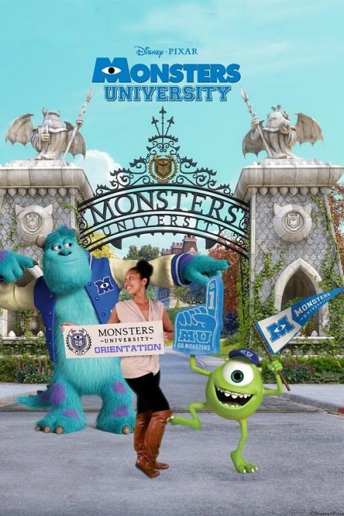 Deanna at Monsters University, mommyGAGA.com