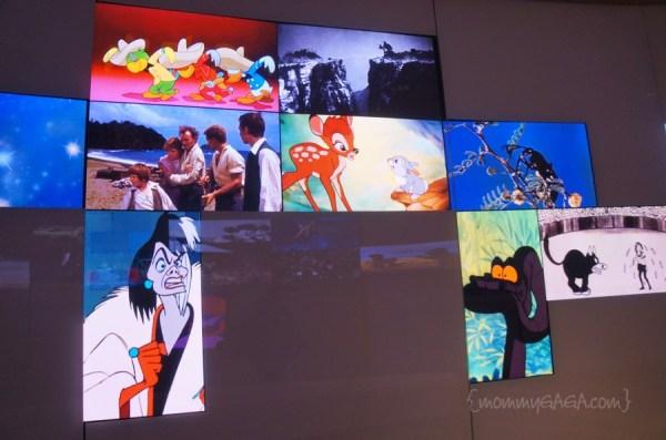 Museum Exit, Overview of Walt Disney's Work