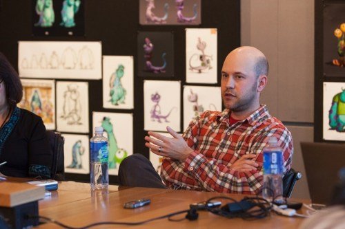 Dan Scanlon, Director of Pixar's Monsters University