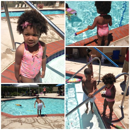 kids at swimming pool, Sunuva swim wear