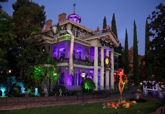 Haunted Mansion, Disneyland, Mickey's Halloween Party