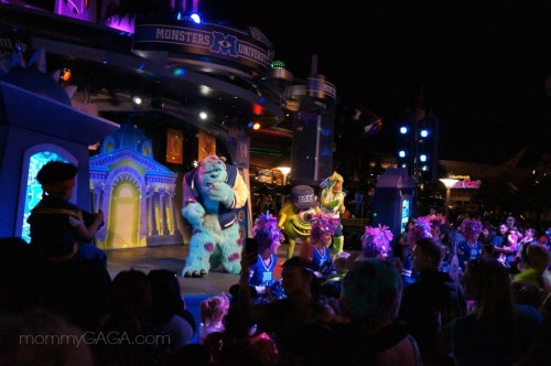 Disneyland Monsters University Dance party, Halloween Time