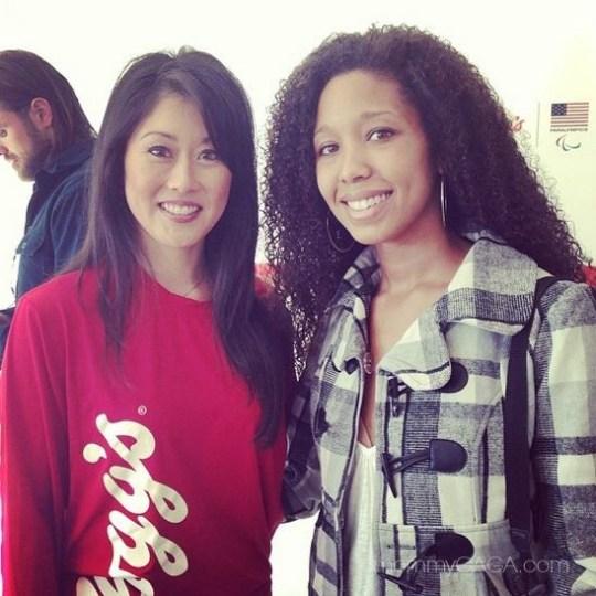 Deanna Underwood and Kristi Yamaguchi, New York, 2013