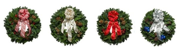 Christmas Forest Live Fresh Holiday Wreaths