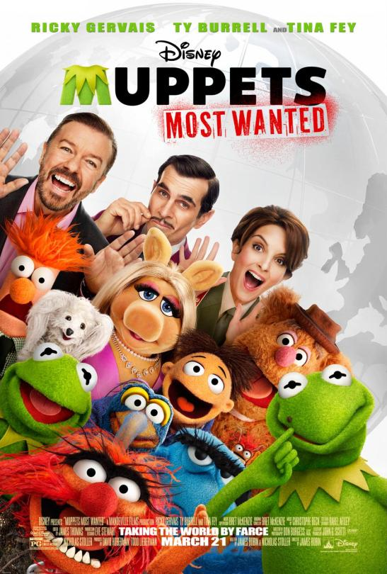 Walt Disney Studios Muppets Most Wanted Movie