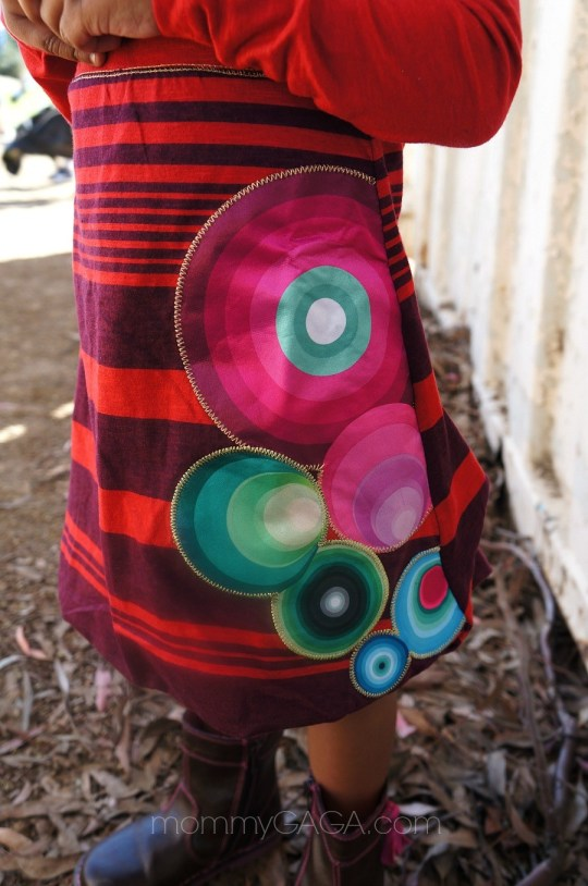 Beautiful details on Desigual Girls Roma Dress